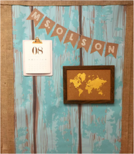 Classroom Decor Shabby Chic ~ Classroom bulletin boards and door decorations